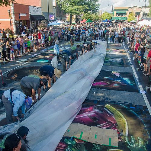 A Brief History of Chalk Festivals