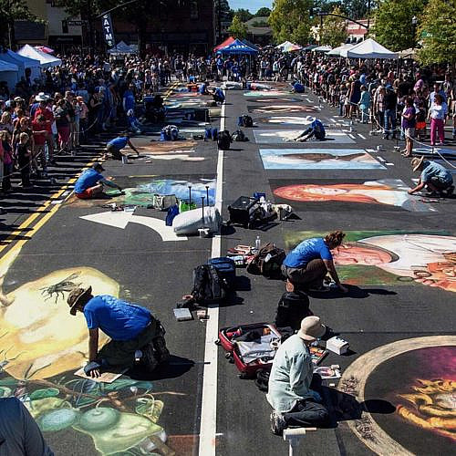 Chalktoberfest: Chalk, Beer and Wine Festival