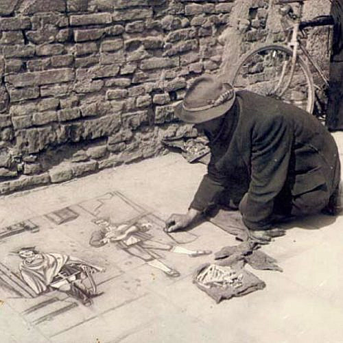 A Brief Look at the History of Chalk Art