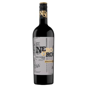 Nero Oro Appassiemento Nero d'Avola