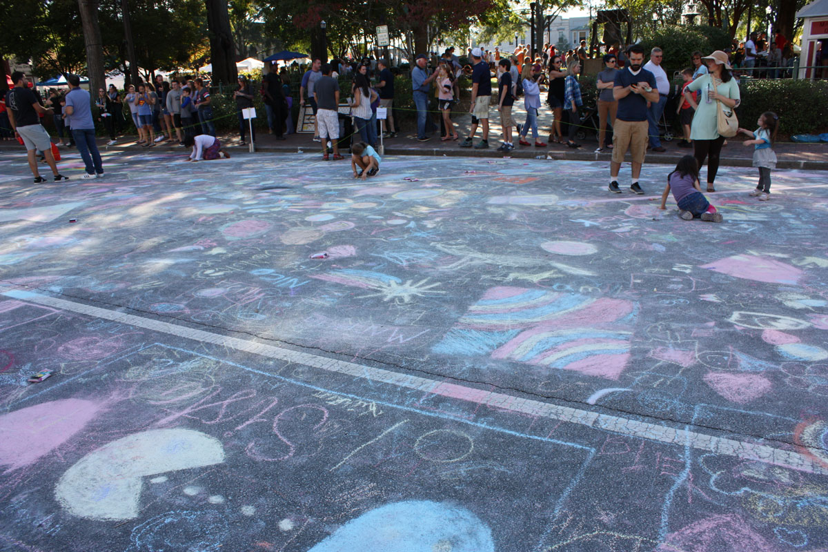 Community Chalk Competition