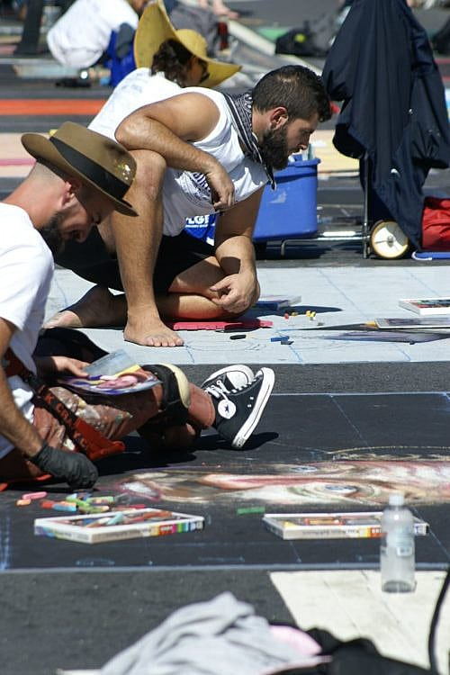 You are currently viewing Who are the professional chalk artists?